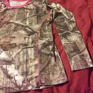 legendary Tops - Legendary womens large camo and pink long sleeve.